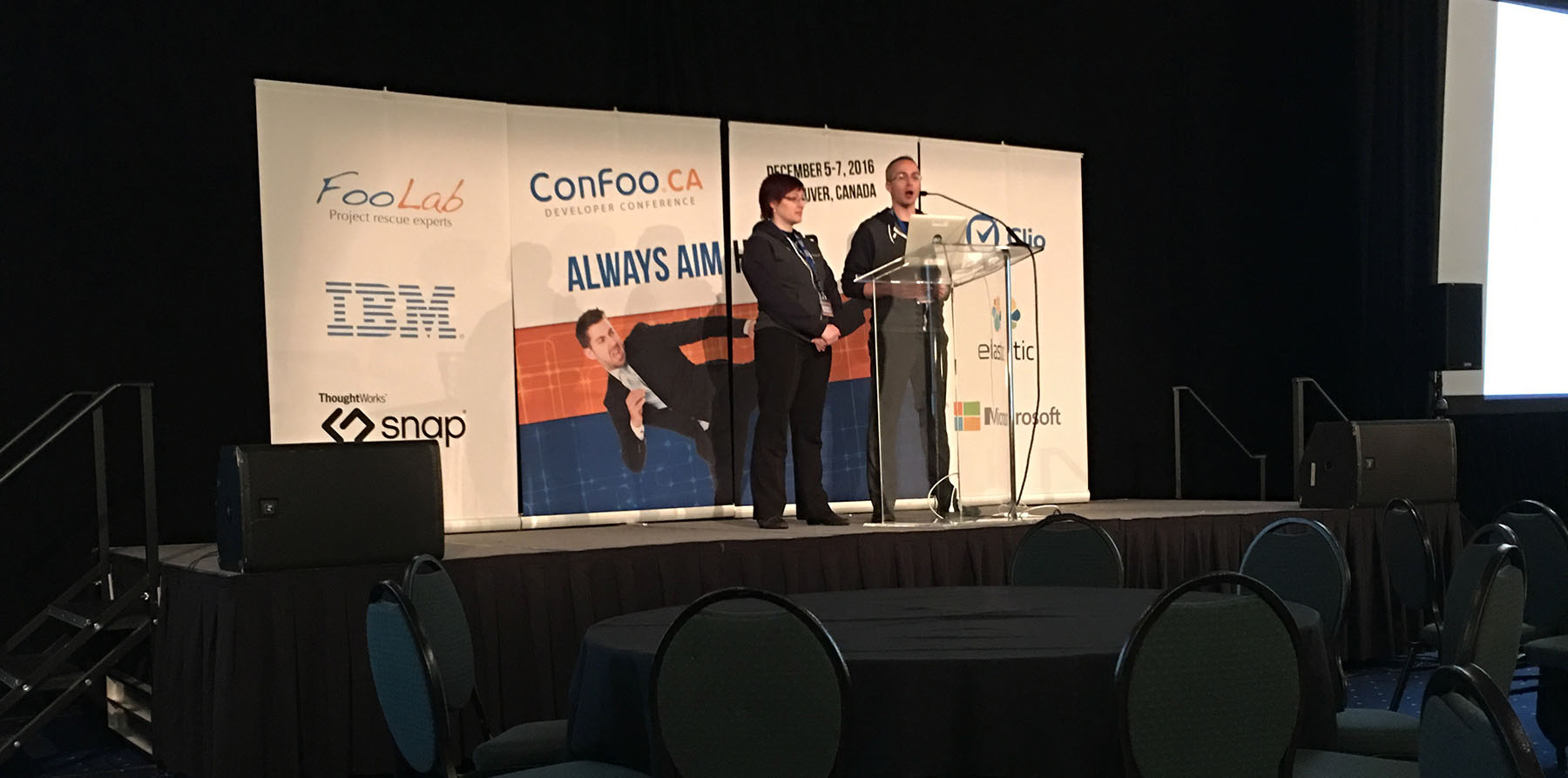 ConFoo: Developer Conference – Day 1